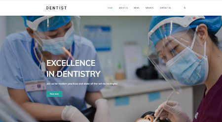 Web design for the dentistry industry