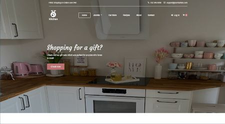 Ecommerce web design for appliances