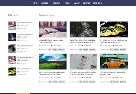 LMS NewsHub Web Design Middle Section