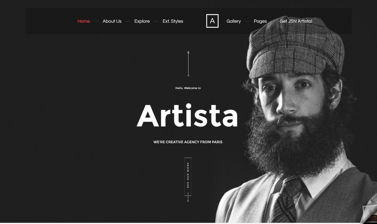 LMS Artista Web Design Template