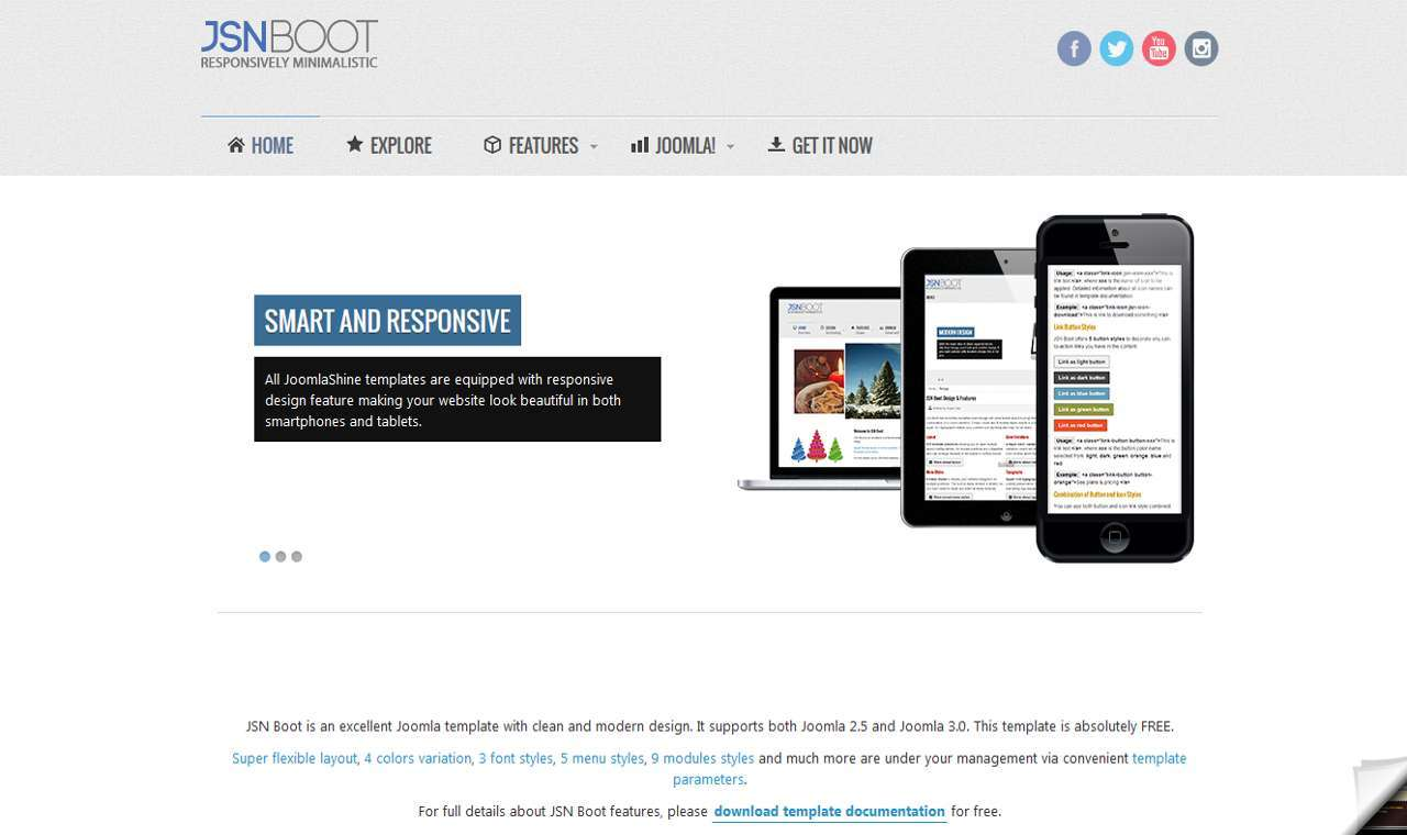 LMS Boot Web Design Template