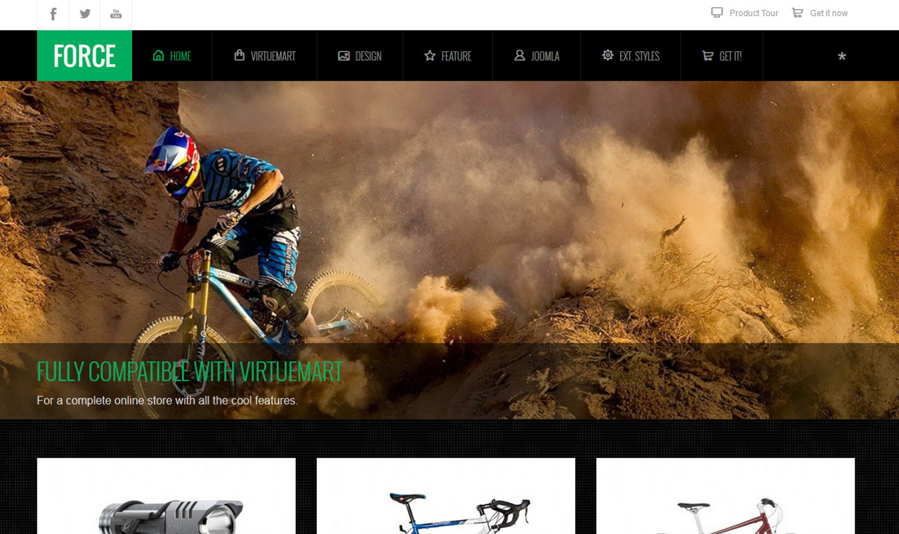 LMS Force Web Design Template