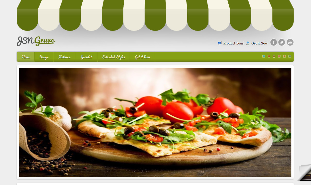 LMS Gruve Web Design Template