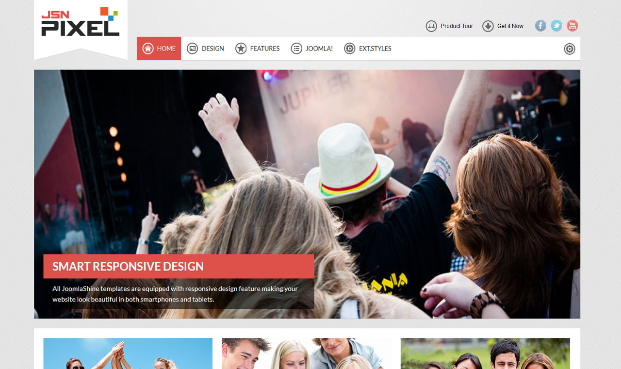 LMS Pixel Web Design Template
