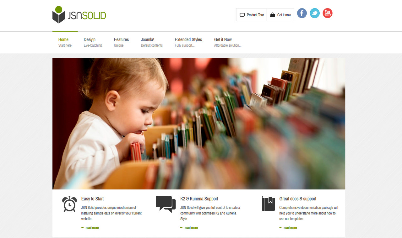 LMS Solid Web Design Template