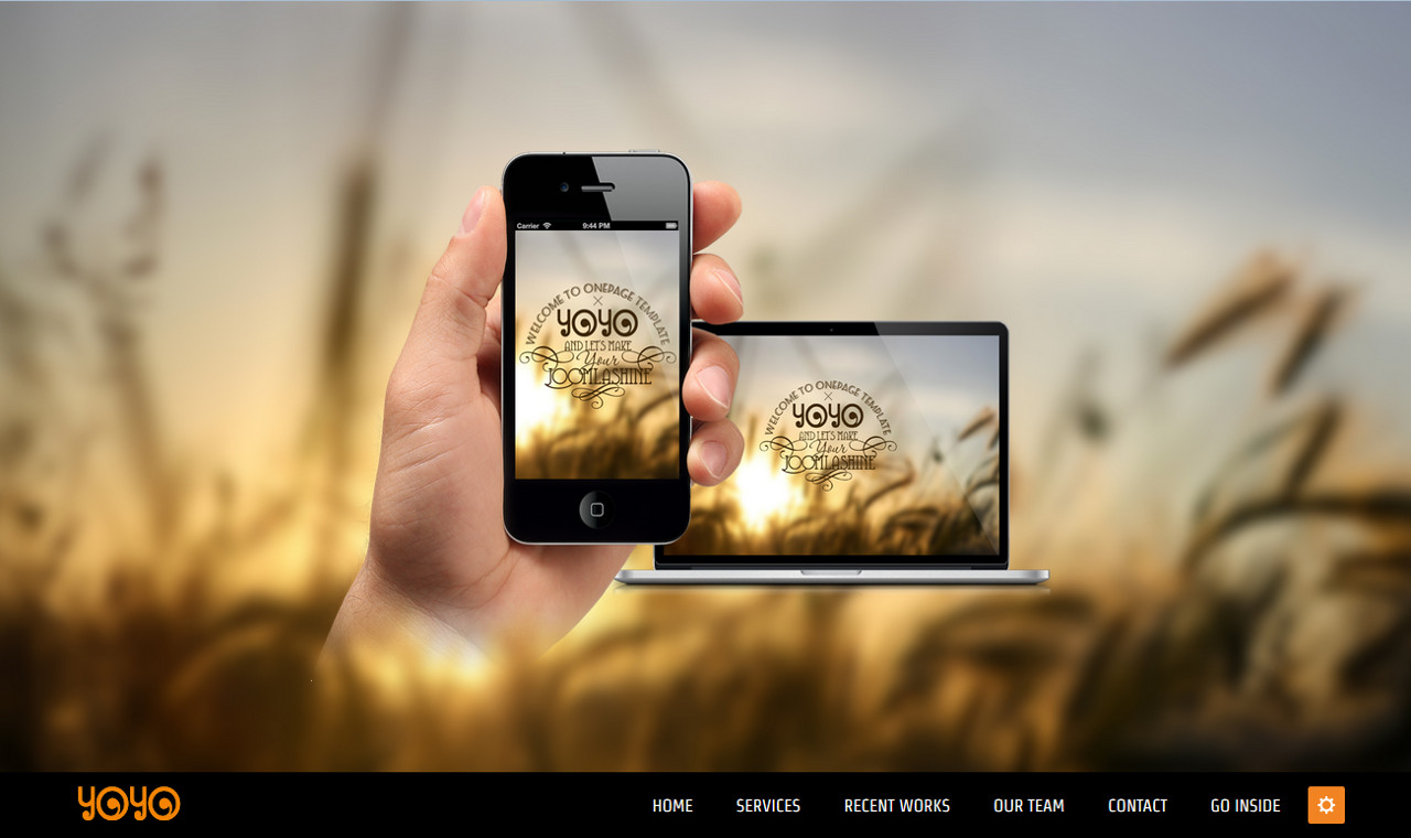 LMS YoYo Web Design Template