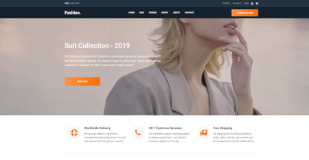 LMS Mall Fashion Ecommerce Website Design