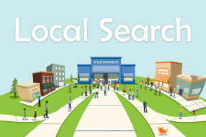 Local Search for Website Creation